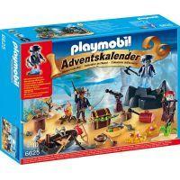 Playmobil 6625 Adventní kalendář Tajemný pirátský ostrov pokladů