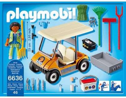 Playmobil 6636 Auto ošetřovatele zvířat