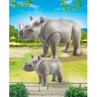 Playmobil 6638 Nosorožec s mládětem 2