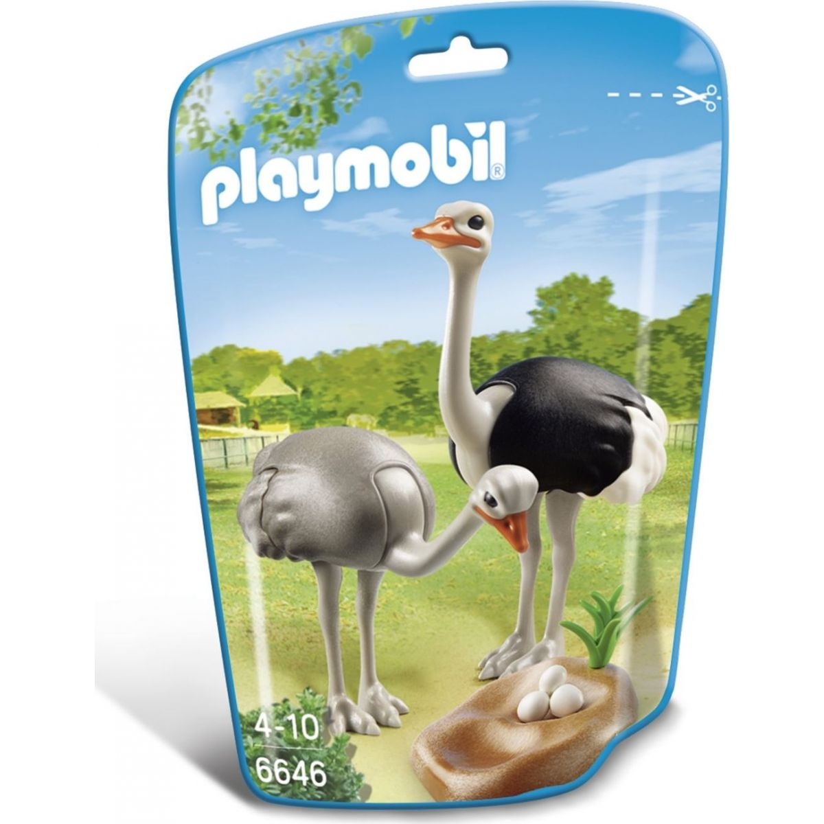 Playmobil 6646 Pštrosi s hnízdem