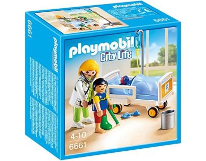 Playmobil 6661 Dětská lékařka s pacientem