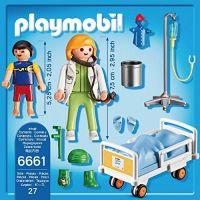 Playmobil 6661 Dětská lékařka s pacientem 2