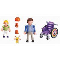 Playmobil 6663 Dítě na vozíku 3