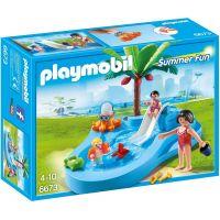 Playmobil 6673 Dětský bazén se skluzavkou