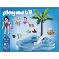 Playmobil 6673 Dětský bazén se skluzavkou 2