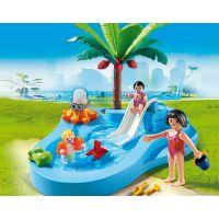 Playmobil 6673 Dětský bazén se skluzavkou 3