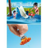 Playmobil 6673 Dětský bazén se skluzavkou 5