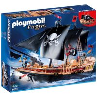 Playmobil 6678 Pirátská bitevní loď