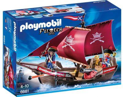 Playmobil 6681 Loď vojenské gardy s dělem