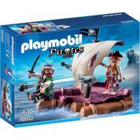 Playmobil Pirátský vor