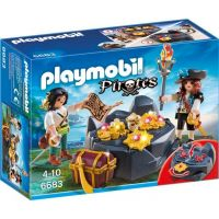 Playmobil 6683 Pirátská skrýš