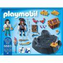 Playmobil 6683 Pirátská skrýš 2