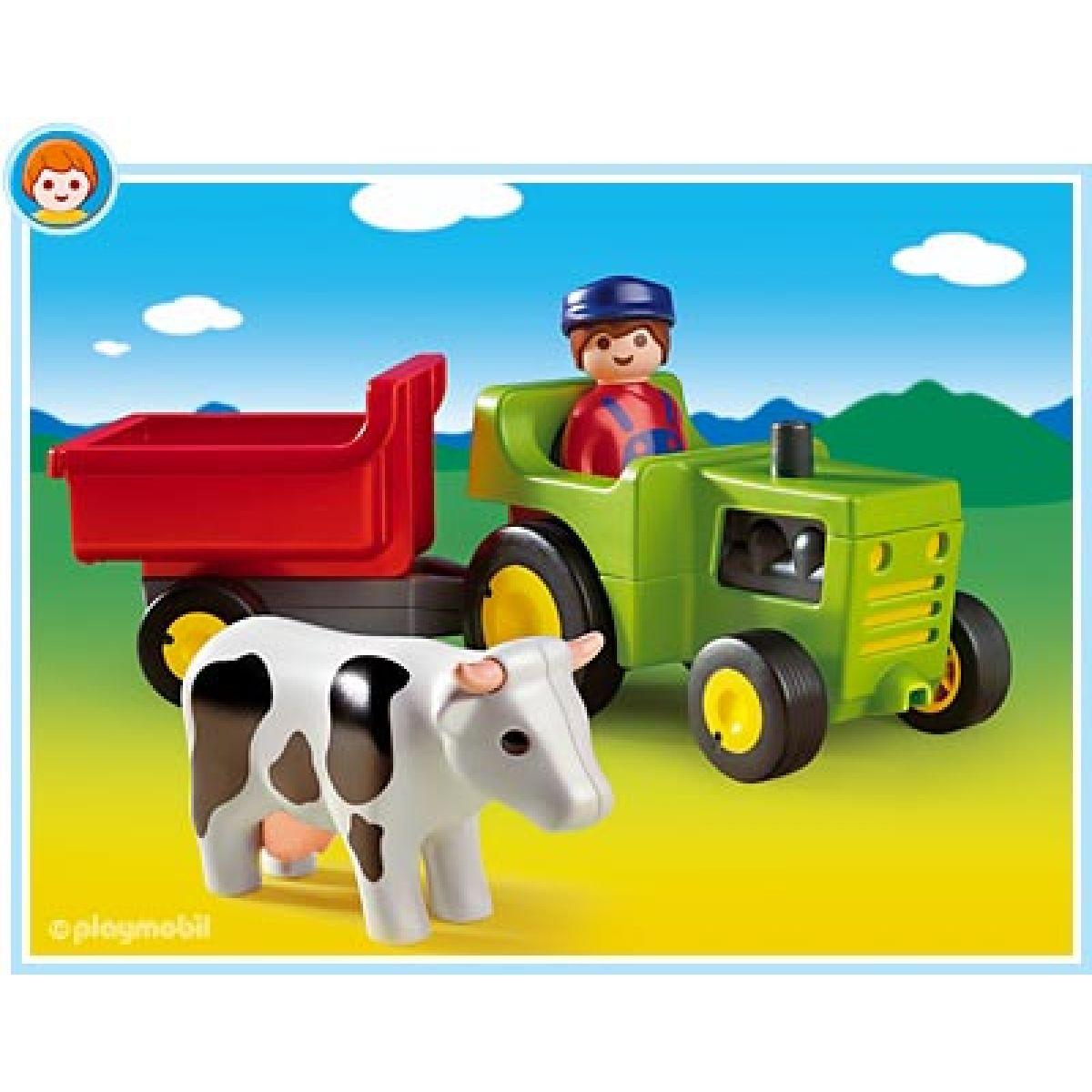 Playmobil 6715 - Statkář s traktorem