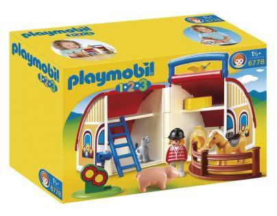 Playmobil 6778 - Přenosná stodola