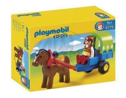 Playmobil 6779 - Kočárek s poníky