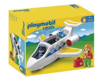 Playmobil 6780 - Tryskové letadlo