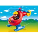 Playmobil 6789 - Požární helikoptéra 2