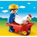 Playmobil 6793 Farmář s kolečkem 2