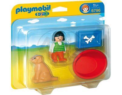 Playmobil 6796 Holčička s pejskem