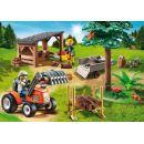 Playmobil 6814 Dřevorubci s traktorem 2