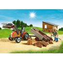 Playmobil 6814 Dřevorubci s traktorem 3