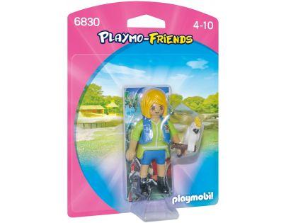 Playmobil 6830 Cvičitelka zvířat s kakadu