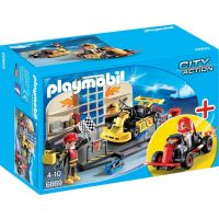 Playmobil 6869 Opravna motokár