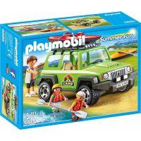 Playmobil 6889 SUV 4x4 s kánoí