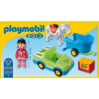 Playmobil 6958 Auto s koňským přívěsem 3