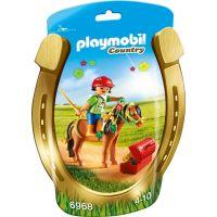 Playmobil 6968 Zdobení poníků Kytička