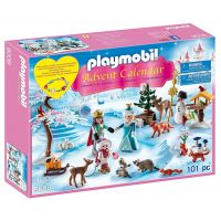 Playmobil 9008 Adventní kal. Bruslení v zámeckém parku