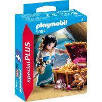 Playmobil 9087 Pirátka s truhlou pokladů