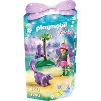 Playmobil 9140 Víla a její přátelé Sova a tchoř