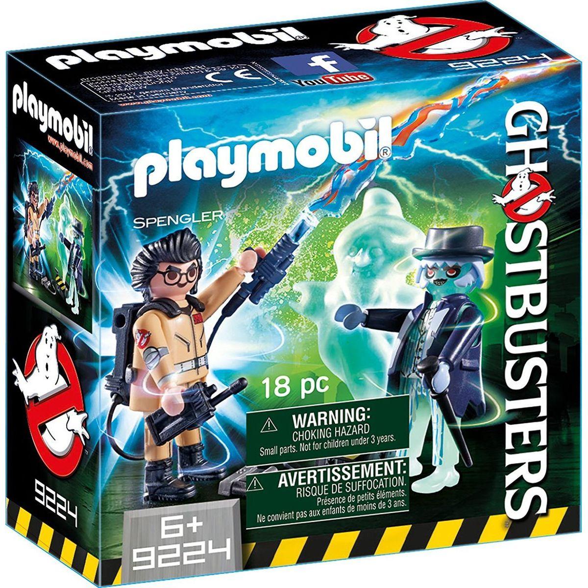 Playmobil 9224 Ghostbusters Spengler a duch
