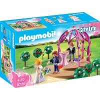 Playmobil 9229 Svatební pavilón s nevěstou a ženichem