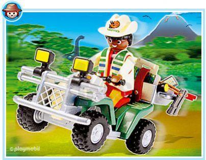 Playmobil 4176 - Průzkumná čtyřkolka