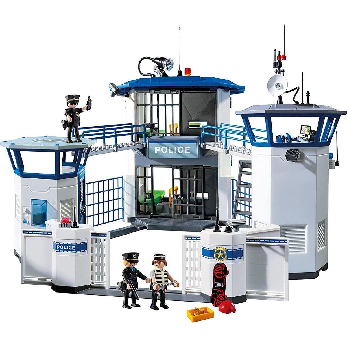 PLAYMOBIL® 6919 Policajné centrála s väzením