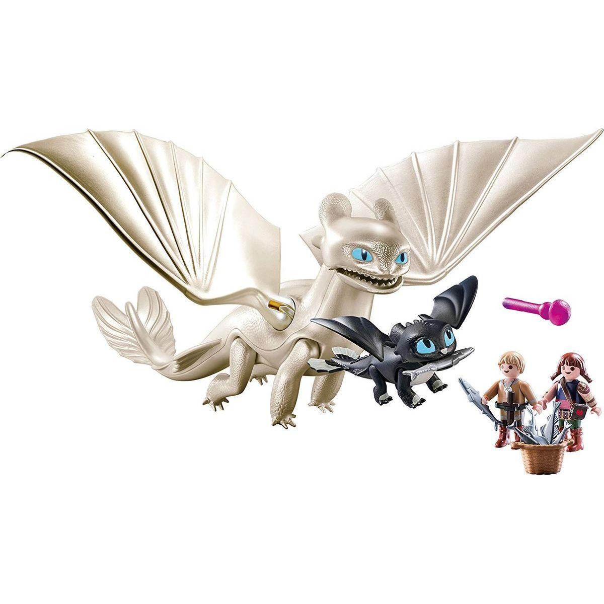 PLAYMOBIL® 70038 Bílá Běska a dráče s dětmi