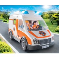 PLAYMOBIL® 70049 Ambulancia so svetlami 3