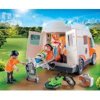 PLAYMOBIL® 70049 Ambulancia so svetlami 4