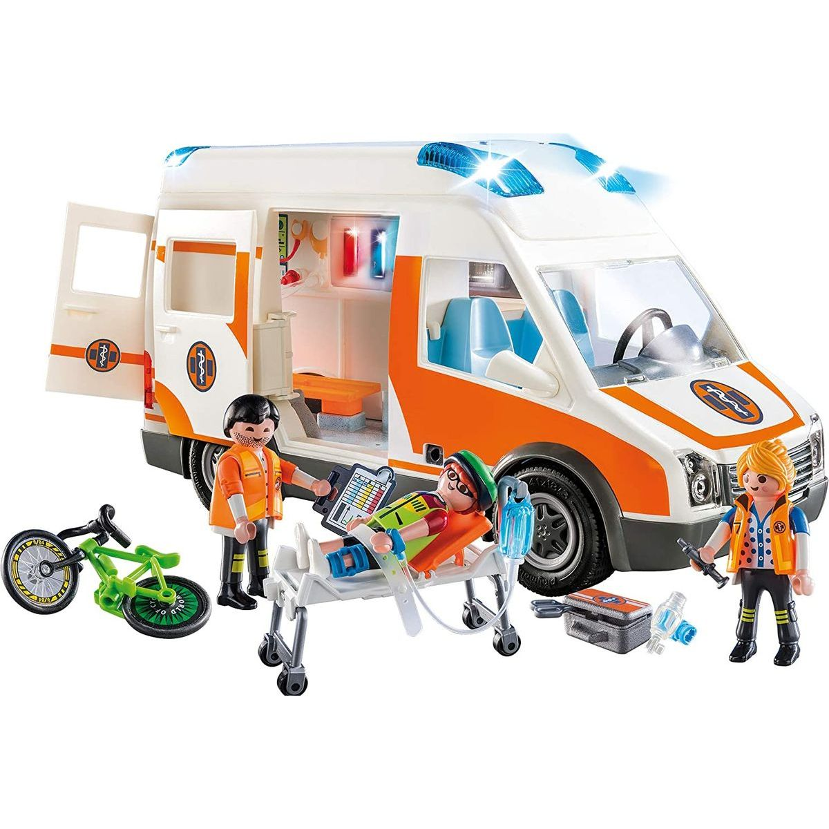 PLAYMOBIL® 70049 Ambulancia so svetlami