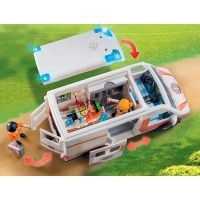 PLAYMOBIL® 70049 Ambulancia so svetlami 5