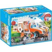 PLAYMOBIL® 70049 Ambulancia so svetlami 6