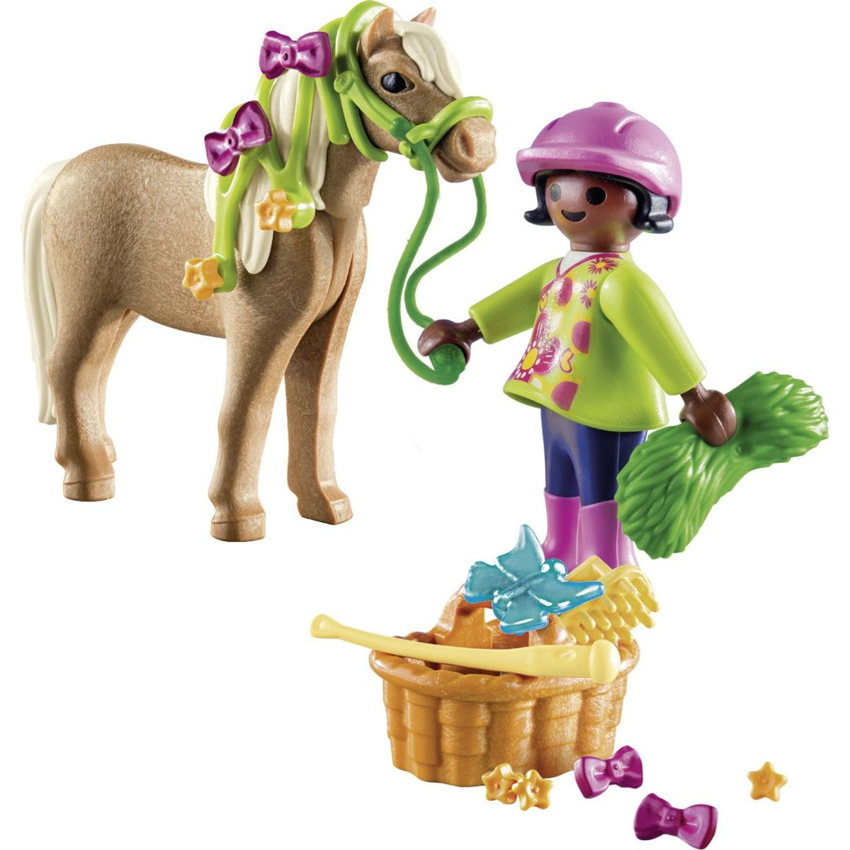 PLAYMOBIL® 70060 Dievča s poníkom