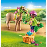 PLAYMOBIL® 70060 Dievča s poníkom 2
