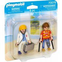 PLAYMOBIL® 70079 Lekárka a pacient 3