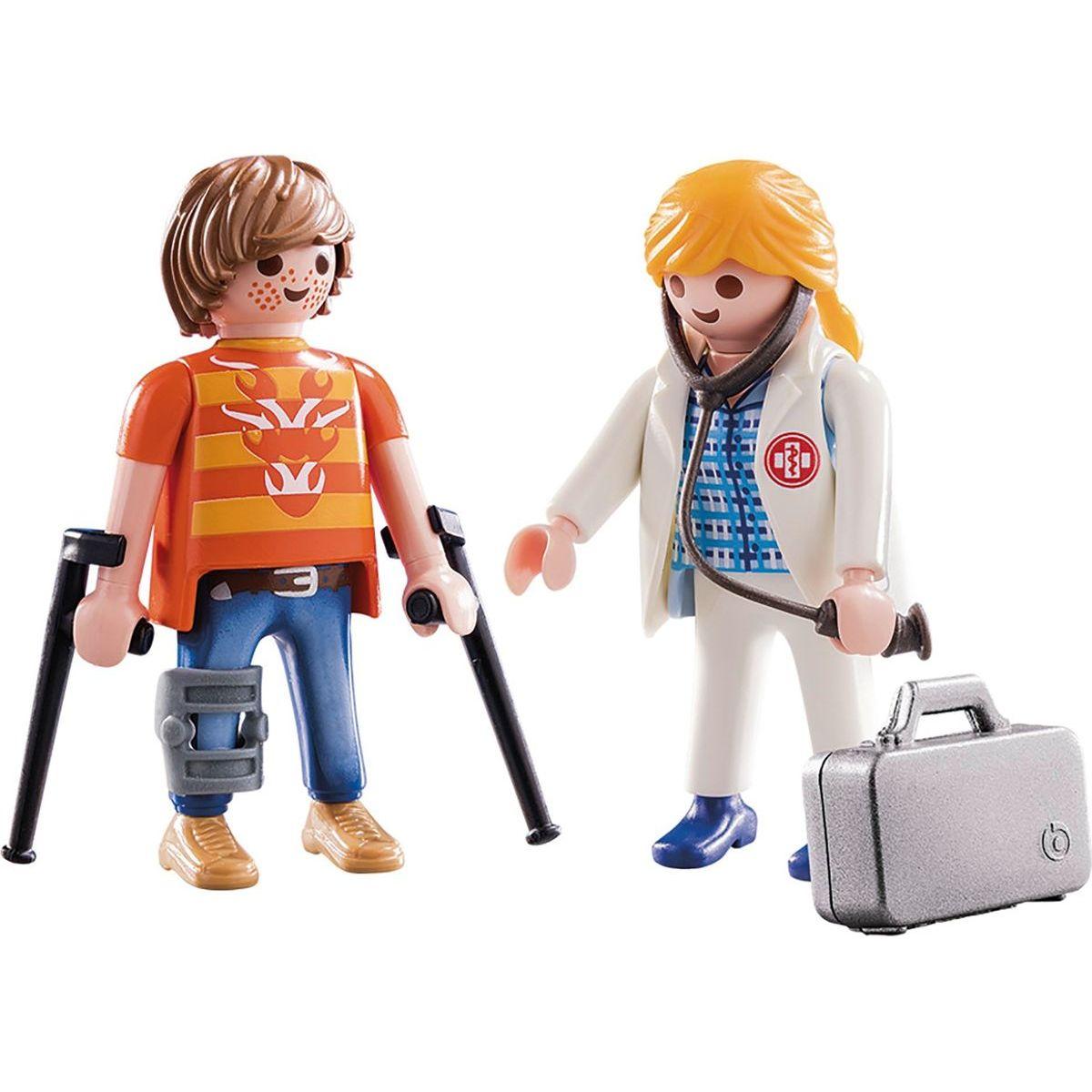 PLAYMOBIL® 70079 Lekárka a pacient