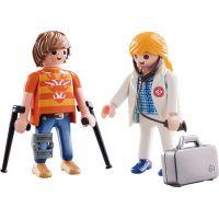 PLAYMOBIL® 70079 Lékařka a pacient