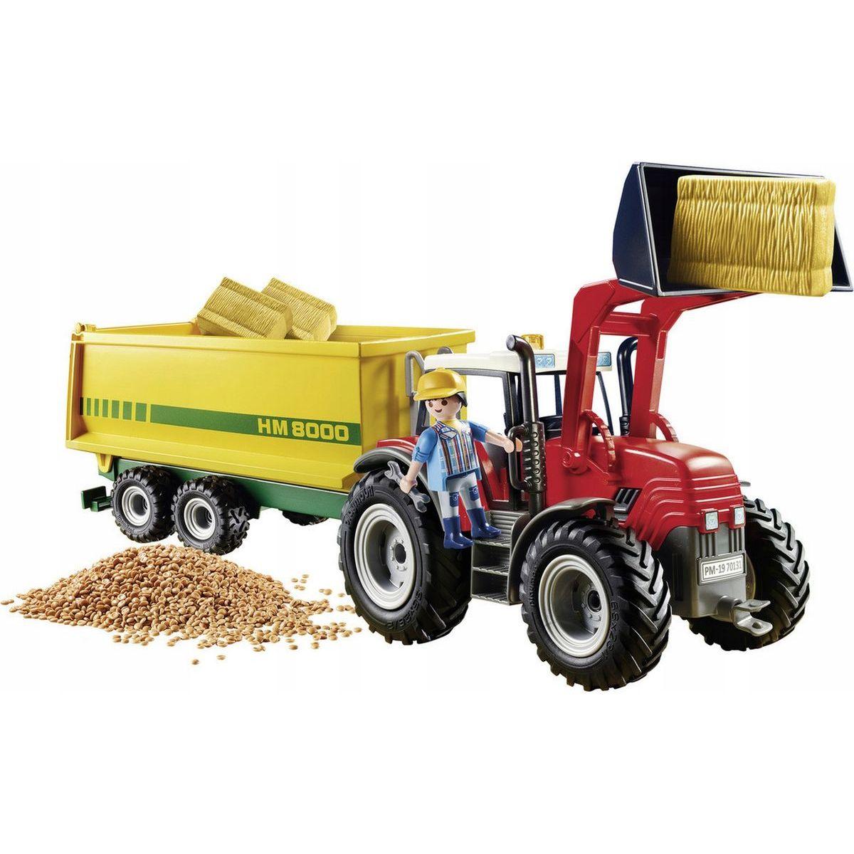 PLAYMOBIL® 70131 Veľký traktor s prívesom
