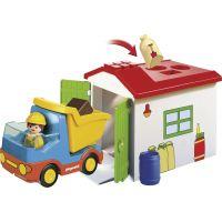 PLAYMOBIL® 70184 Vyklápacie auto s garážou